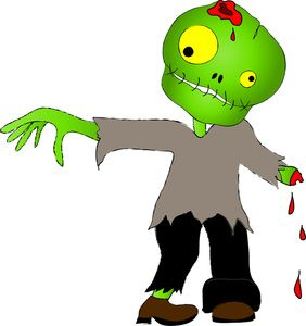 undead clipart image an undead zombie walking again for halloween rh pinterest com Zombie Apocalypse Clip Art free animated zombie clipart