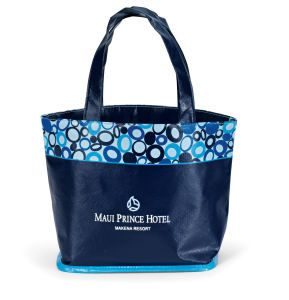 Annabelle Tote  Laminated mini tote in 5 colors