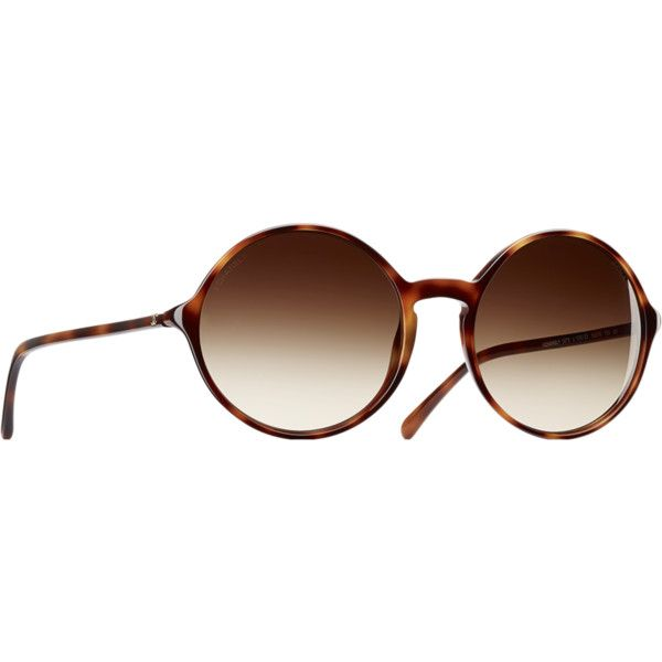 tortoise Chanel ❤ liked on Polyvore featuring accessories, eyewear, sunglasses, chanel glasses, acetate sunglasses, tortoiseshell glasses, acetate glasses and tortoiseshell sunglasses