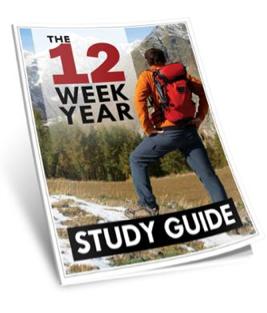 12 week year study guide the comprehensive 12 week year study guide rh pinterest com 12 Week Planner 12 Week Calendar