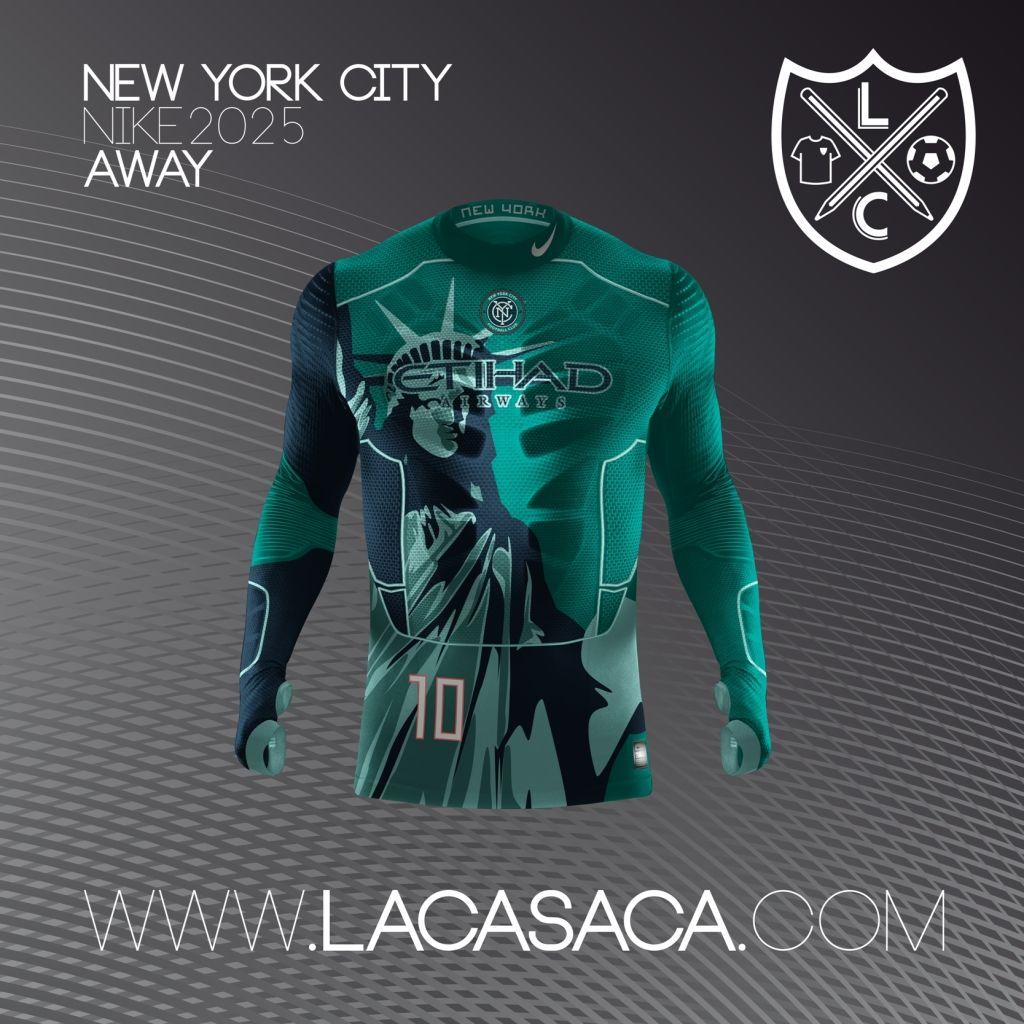 Nike 2025 Fantasy Kits - NYFC Away  f5cddb8dd9b