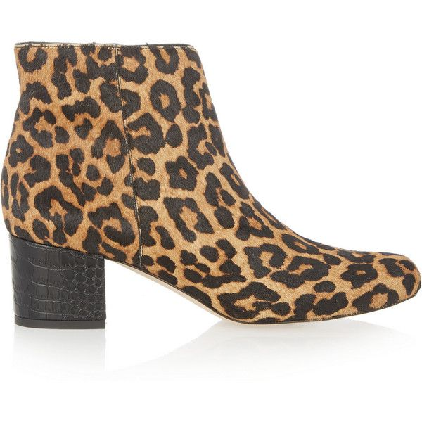 sam edelman leopard print booties