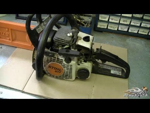 How To Carburetor Fuel Line Repair On Stihl 017 Ms170 018 M180 Chainsaw Part 1 3 Stihl Repair Engine Repair