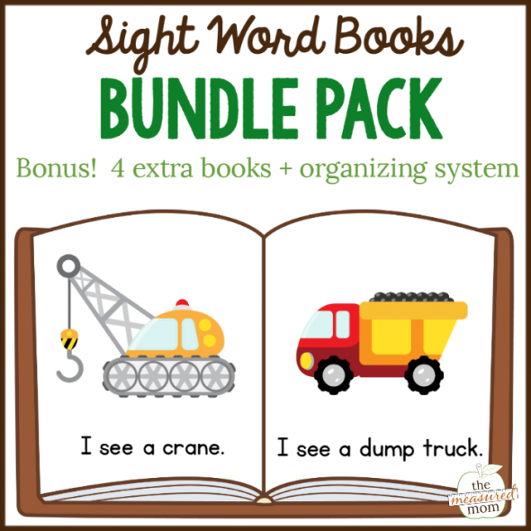 Handy image within printable sight word readers