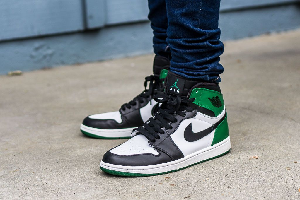 0651df1e934862 See how the Air Jordan 1 Celtics look on feet in this exclusive video  review along with a brief write up including where you can still find these  online!