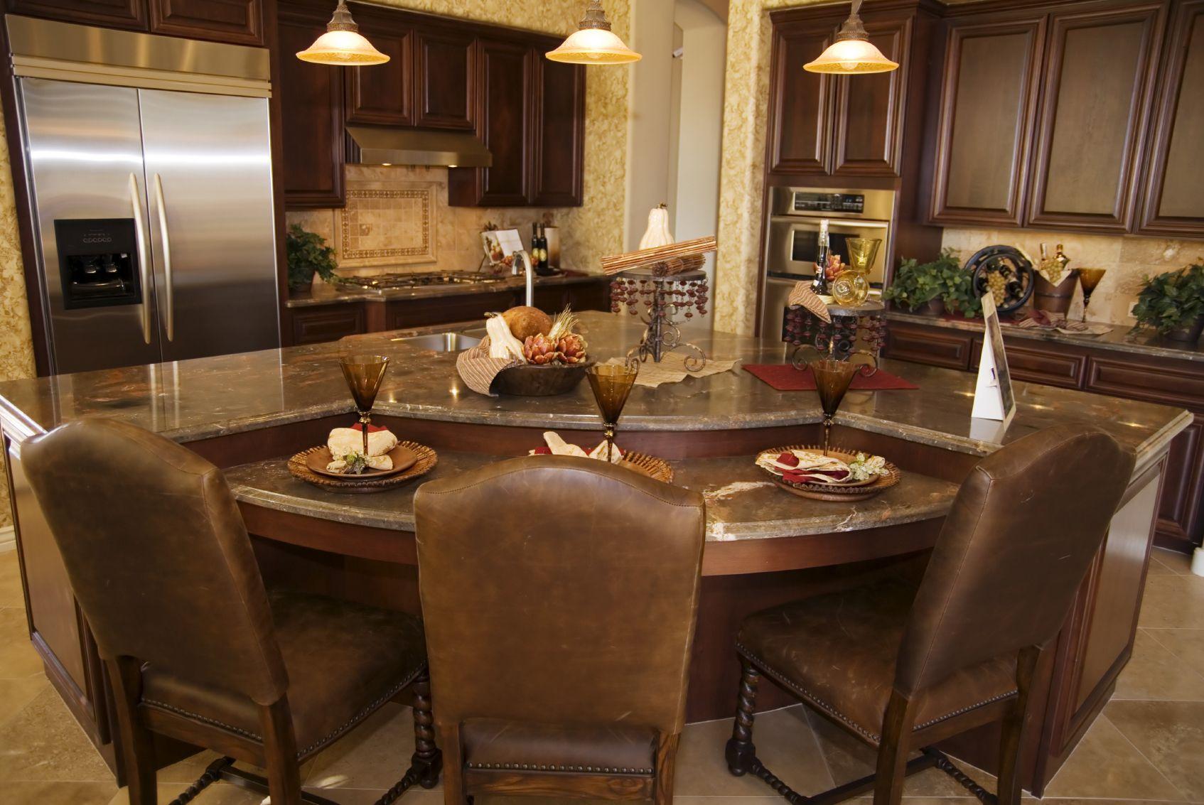 84 Custom Luxury Kitchen Island Ideas & Designs (Pictures) | Dark ...
