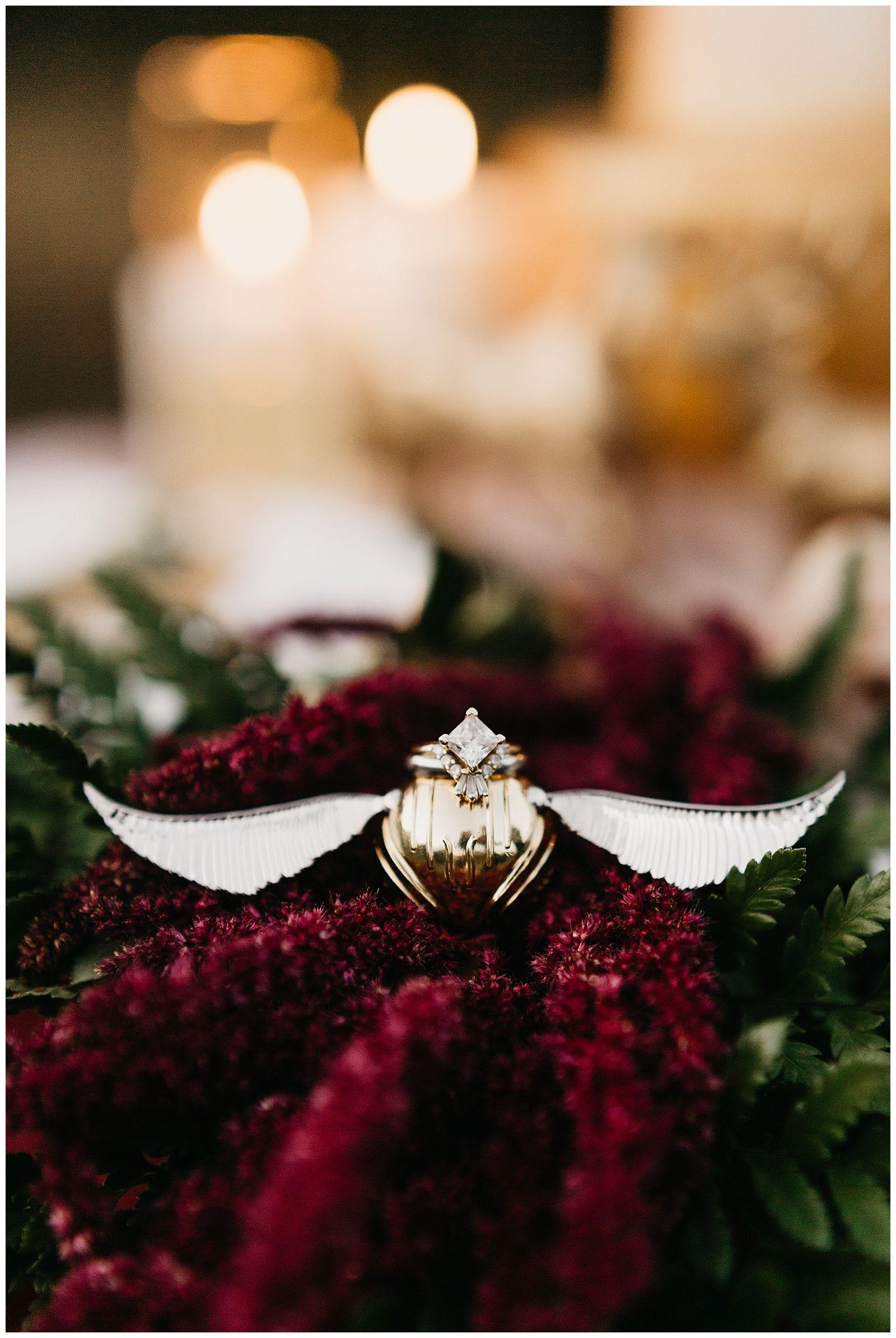 Harry potter wedding dress  After All This Timeu Harry Potter Elopement  HP love  Pinterest