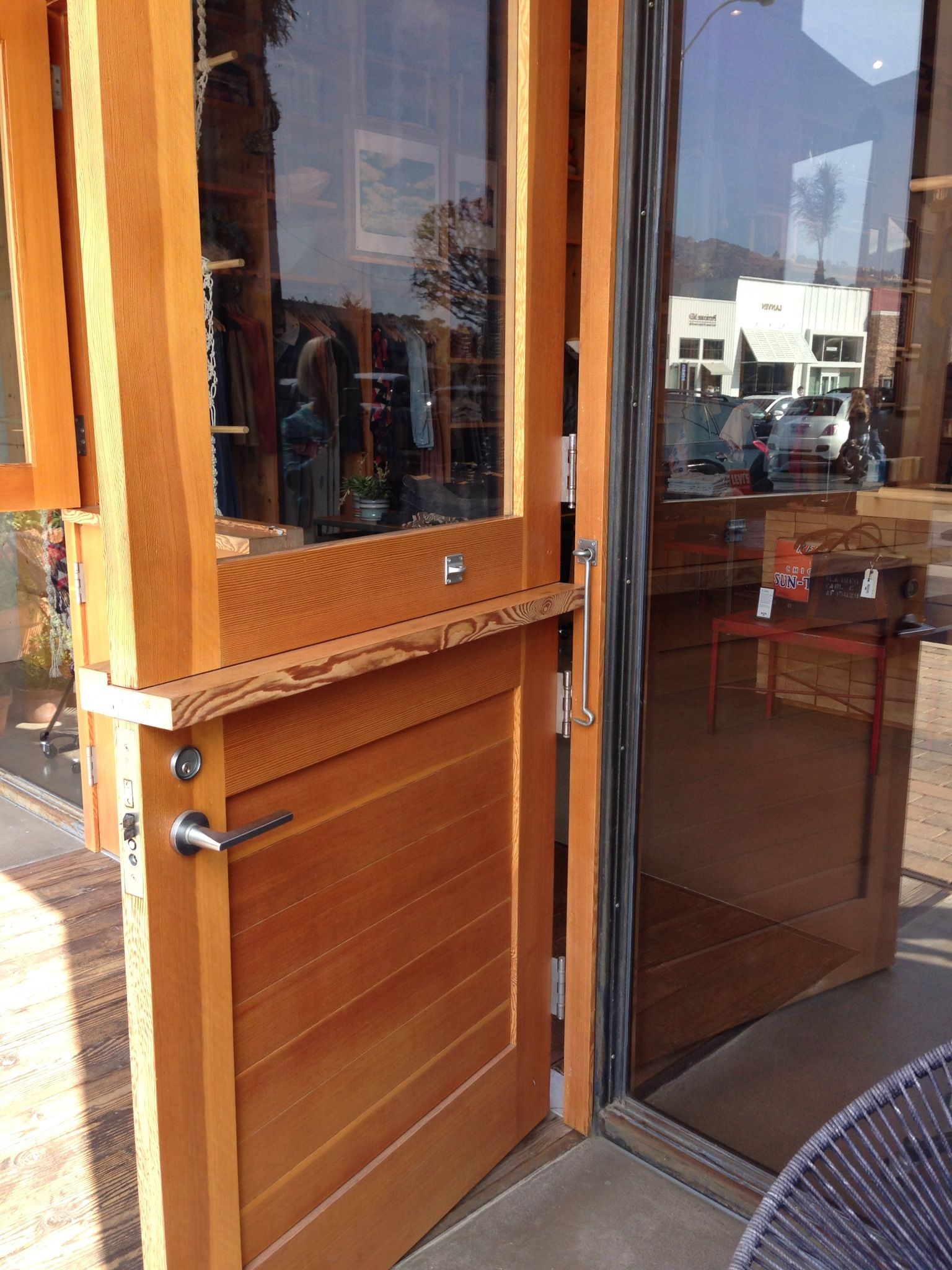 Love This Custom Dutch Door And Hardware