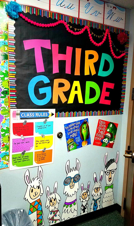 Llama classroom decor | School - Bulletin Boards and Door ...