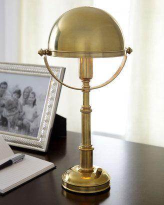 Home Lighting Shopping: Ralph Lauren Mini Helmut Desk Lamp. #lighting #homelighting #minihelmutdesklamp http://shpst.ly/us340365869?pid=uid7524-1482718-77