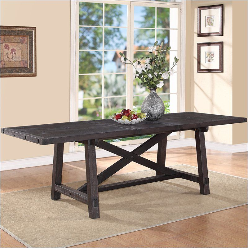 Yosemite Rectangular Extension Table in Cafe 7YC961