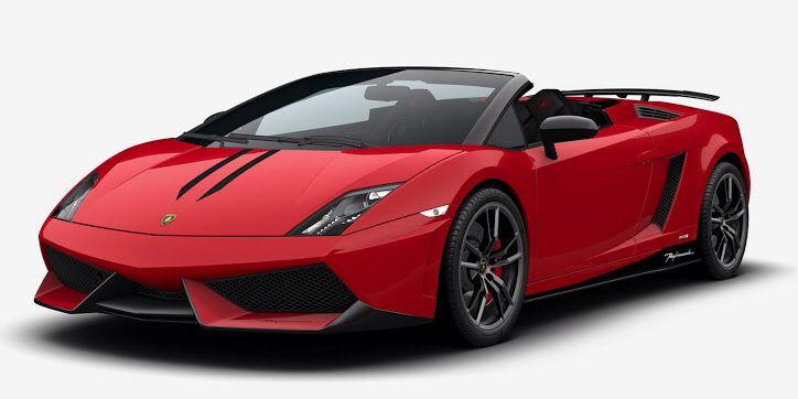 Lamborghini Gallardo Superleggera Convertible