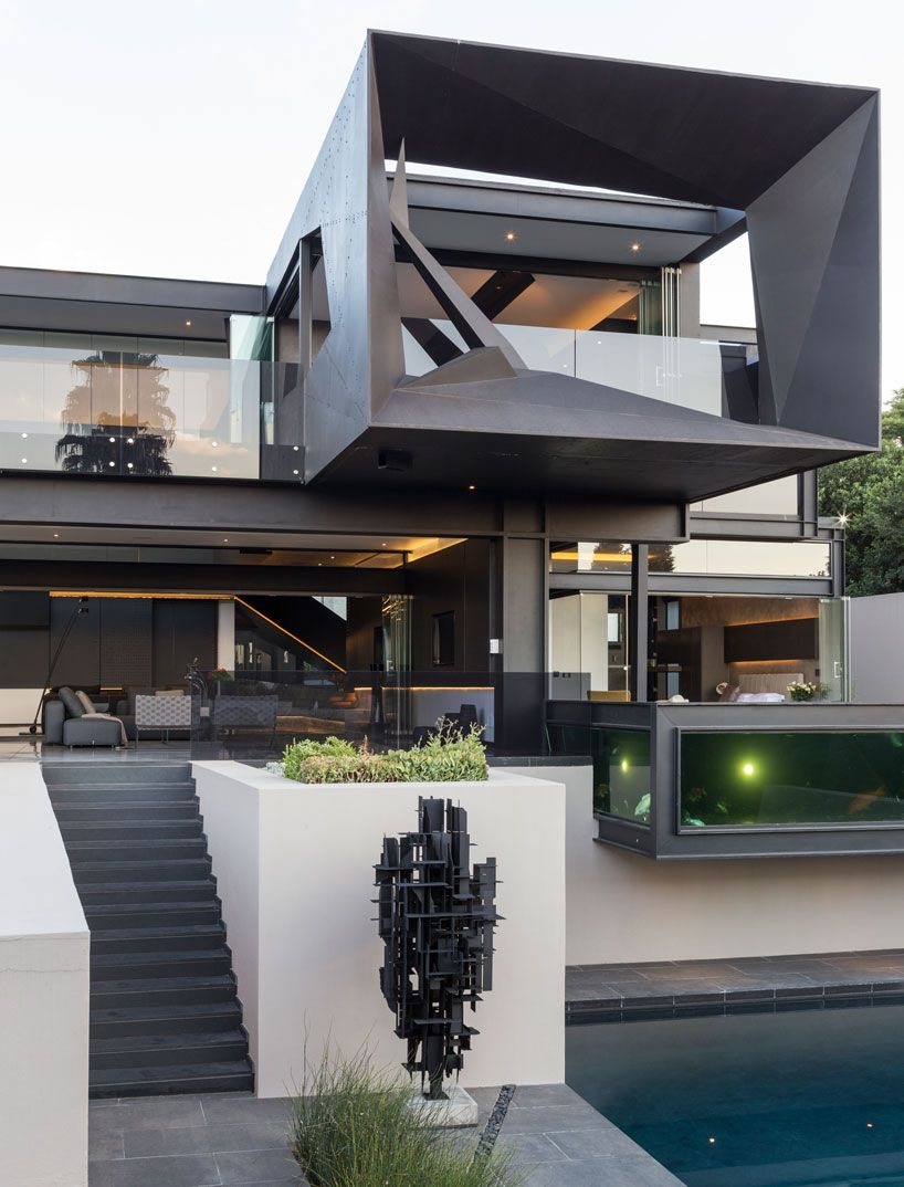 Nico van der meulen architects kloof road house