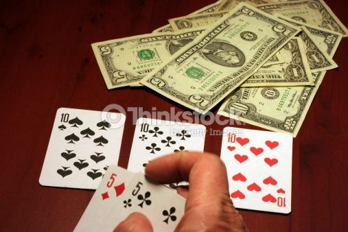 Stock Photo : playing cards