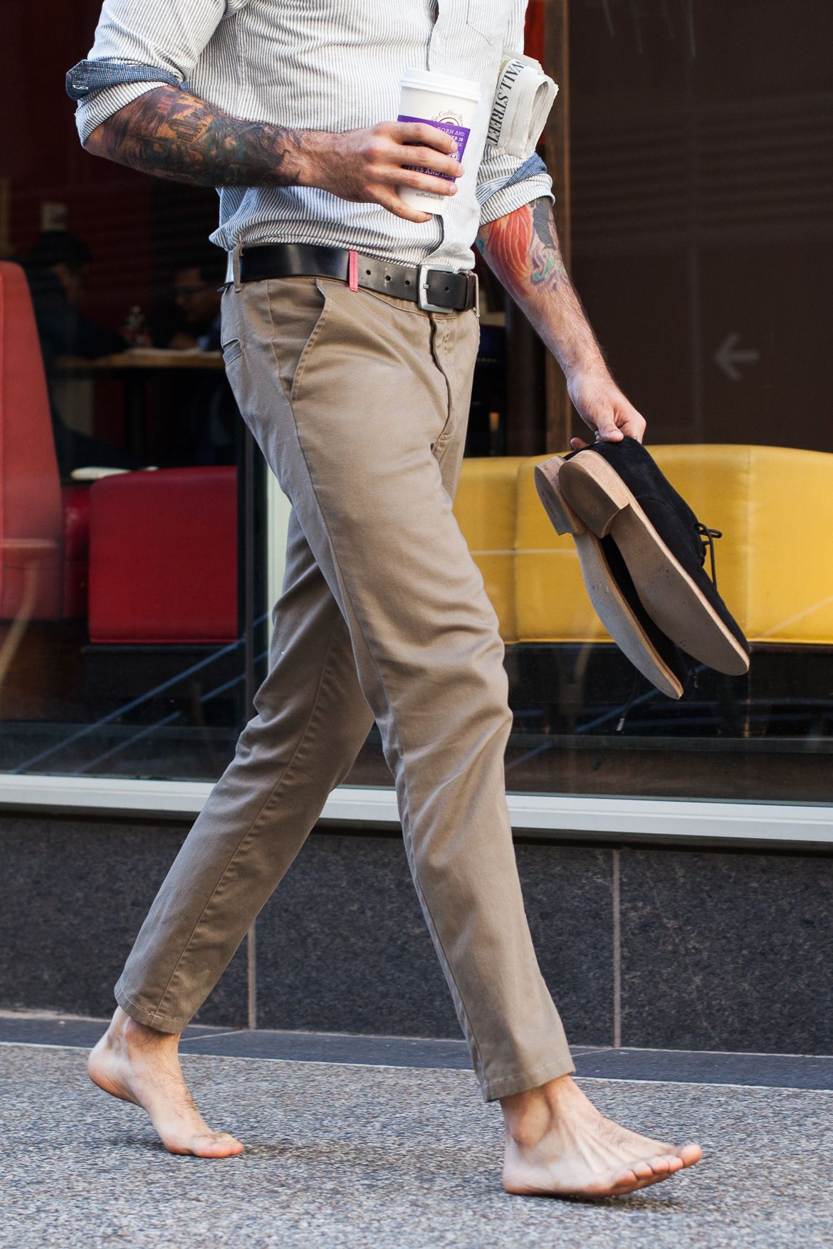 Slackies are khakis you actually want to wear, made from an insanely soft cotton-hemp blend.