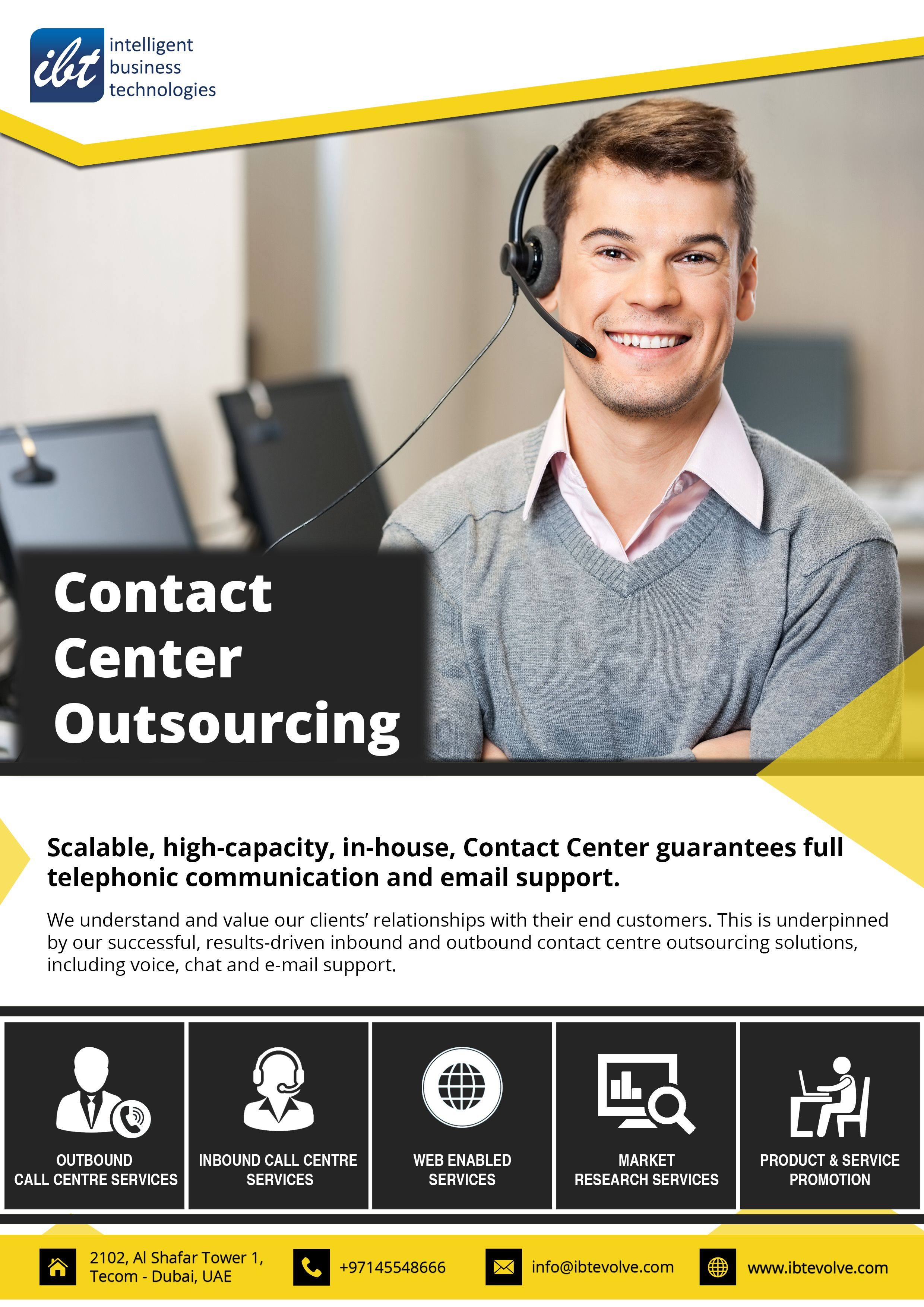 Call Center Solutions In Dubai Contact Center Customer