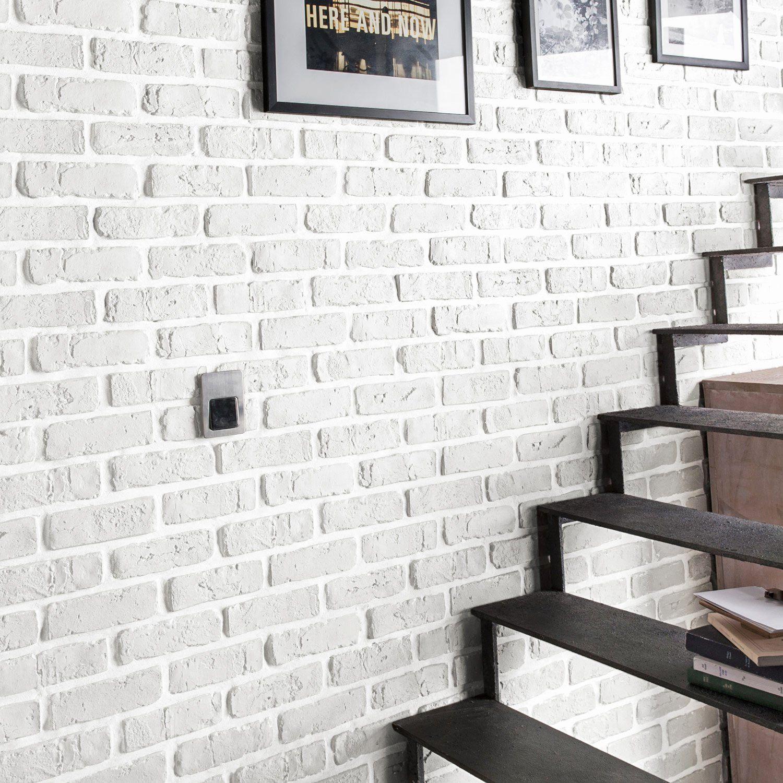 Lovely Plaquette De Parement Brique Brico Depot Home Decor White Brick Walls Home Deco