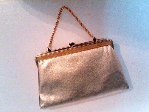Gold Handbag Vintage Costume Theater Granny Sheik Clublife Punk | eBay
