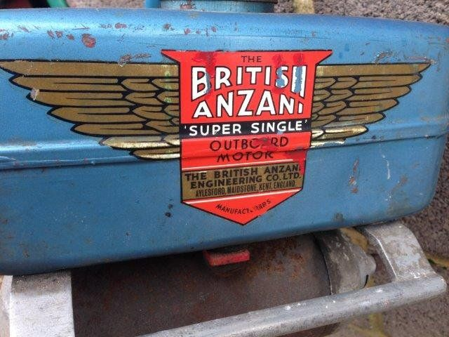 A British Anzani U0027Super Singleu0027 Outboard Motor. : Lot 201