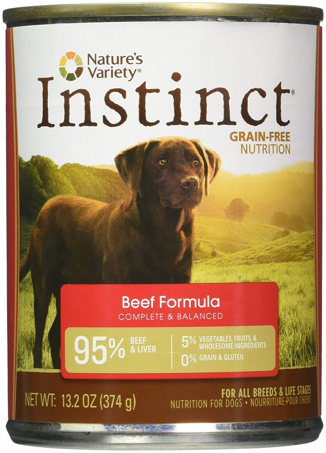Nature S Variety Instinct Grain Free Canned Dog Food Beef 13 2