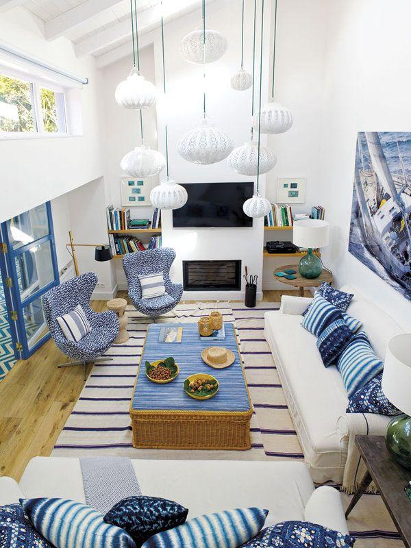 TUDO AZUL NA CASA DE PRAIA COM SUPER ALTO ASTRAL. Houses In FrancePool  HousesInterior Design ... Part 73
