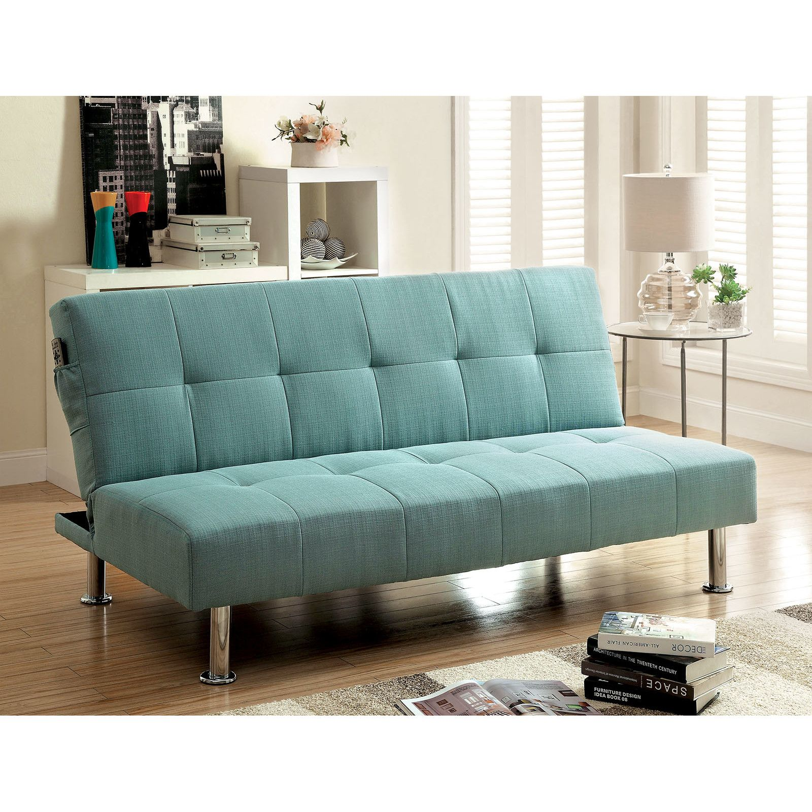 You Ll Love The Tufted Futon Sleeper Sofa At Wayfair Great Deals On All Furniture Products With Free Shipping With Images Futon Sofa Futon Sofa Bed Furniture Of America