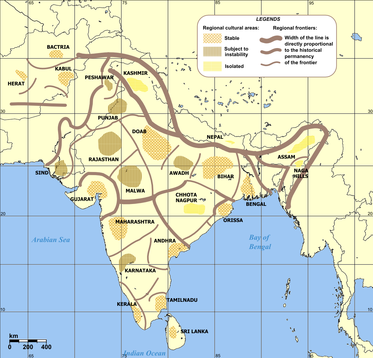 Cultural regional areas of india maps pinterest regional history of indian dynasties starting with the indus river valley and continuing through the modern indian democracy great for ap world history course and gumiabroncs Gallery