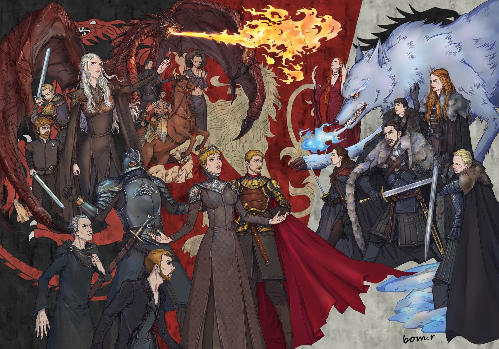 Game of thrones by bom r cdnbtstation submitted by lolta