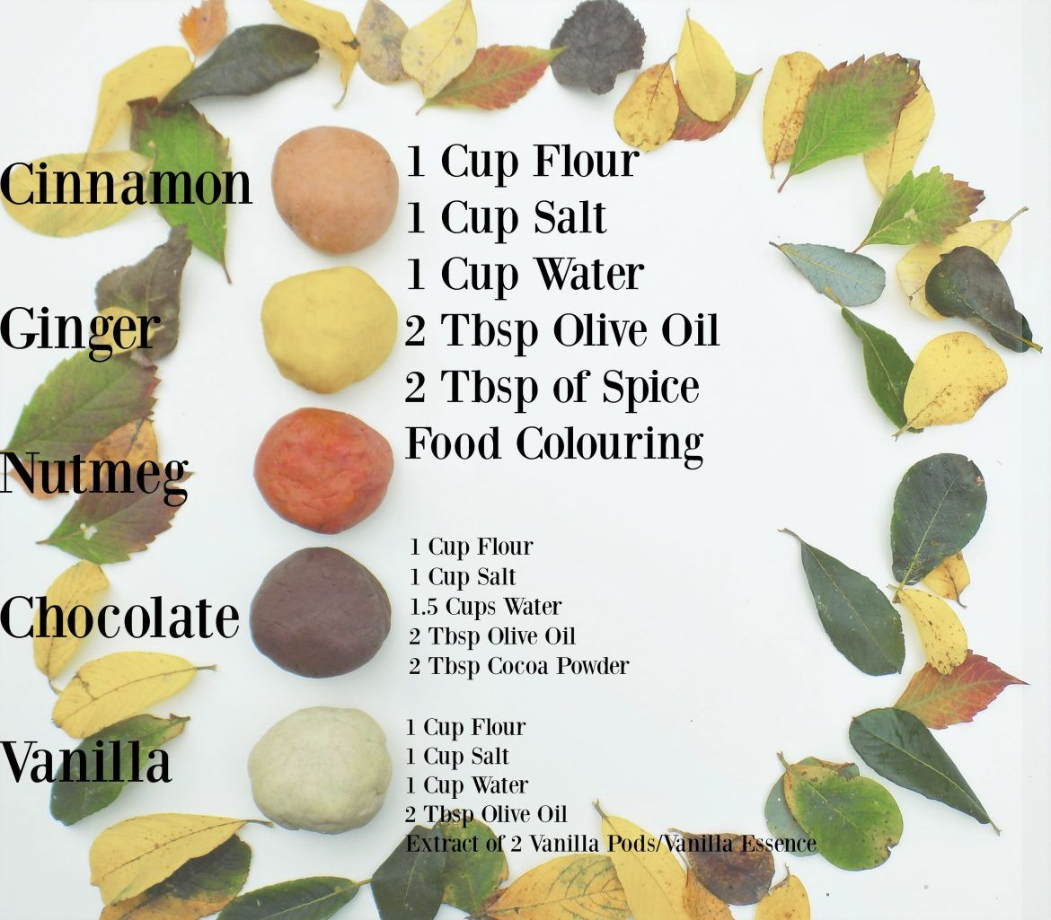 Autumn Scented Playdough 5 Recipes Clean eating snacks