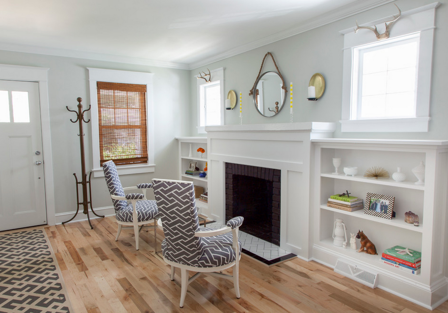 fireplace | Craftsman living rooms, Fireplace built ins ...