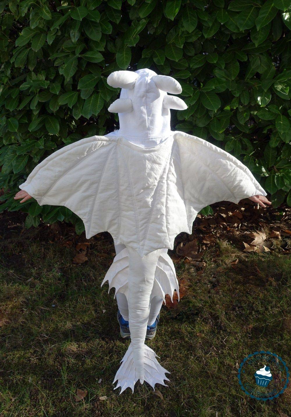Tagschatten Kostum Diy Lightfury Costume Mommymade Halloween Kostume Fur Madchen Halloween Kostume Selbstgemacht Drachenkostum