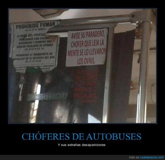 CHÓFERES DE AUTOBUSES