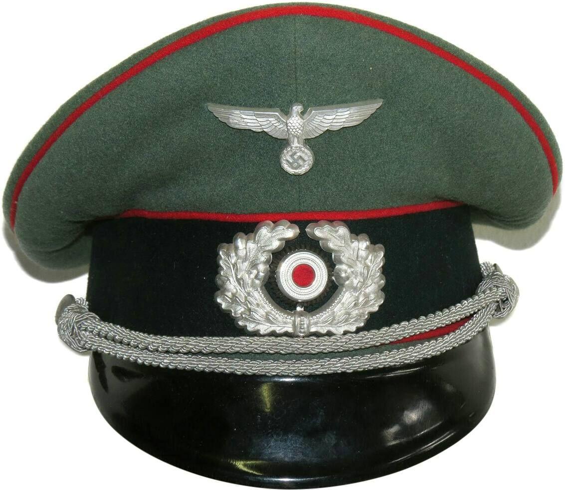 acc20821749 Wehrmacht Heer Artillery officers visor hat.- Visor Hats