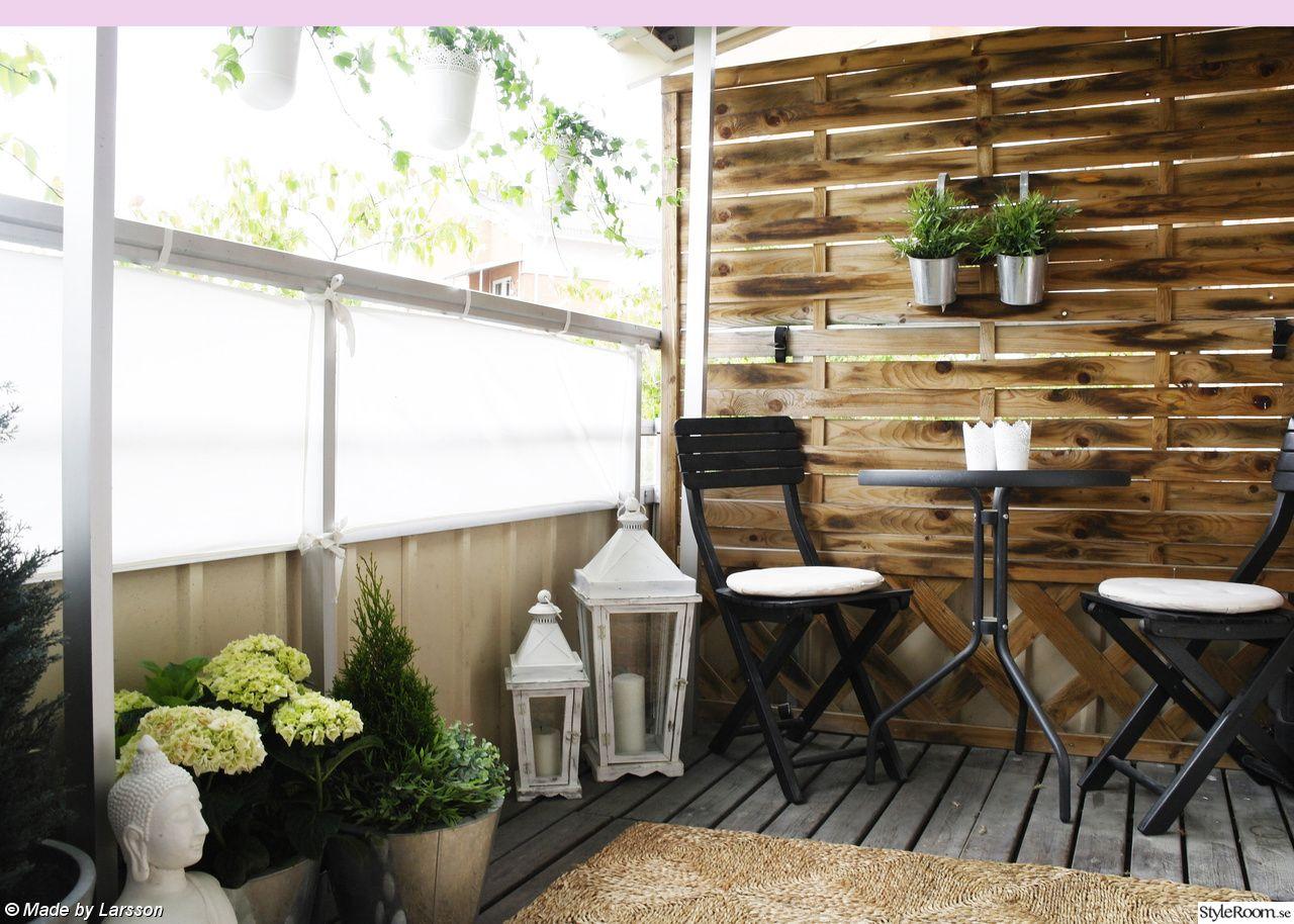 balkong,balkongmöbler,balkonginredning   Balconies   Pinterest ... : balkongräcke trä : Inredning