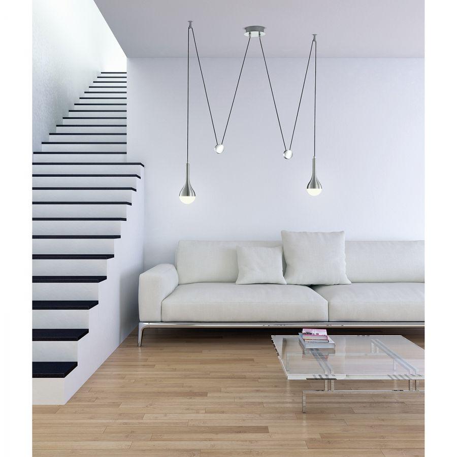 LED Pendelleuchte Drops 2 flammig (mit Bildern) | Led