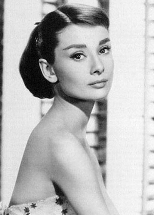Sophisticated Young Updo Audrey Hepburn Hairstyle Beauty