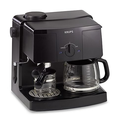 Best Coffee And Espresso Maker Krups Xp 1500 Coffee Espresso Machine Coffee And Espresso Maker Espresso Machine Reviews Espresso Machine