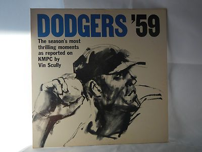 DODGERS '59  record album