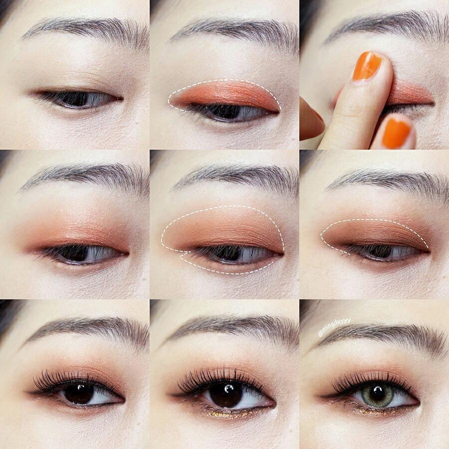 Koreanmakeupeyeliner Korean Makeup Tips Asian Eyeshadow Korean Makeup