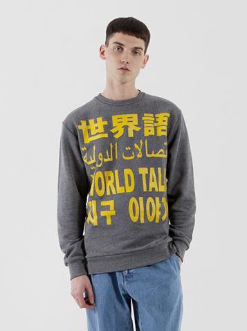 Etudes Studio - ETUDES CREW WORLD TALK - Grey Shop here: http://www.temporaryshowroom.com/shop/index.php?label=170