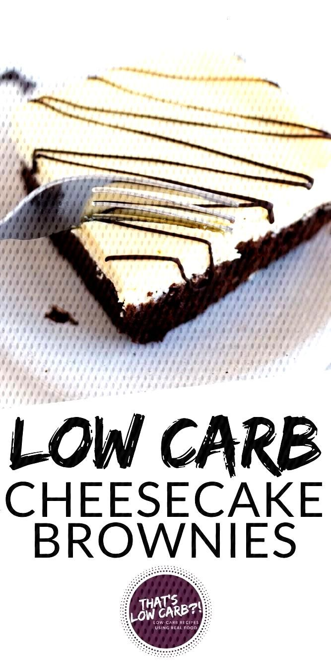 These Keto Cream Cheese Brownies are for when you want cheesecake AND brownies too. A fudgy chocola