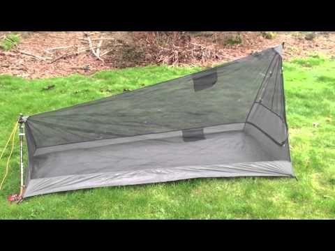 DIY Bug Net Shelter - YouTube & DIY Bug Net Shelter - YouTube | Ultralight Tents | Pinterest ...