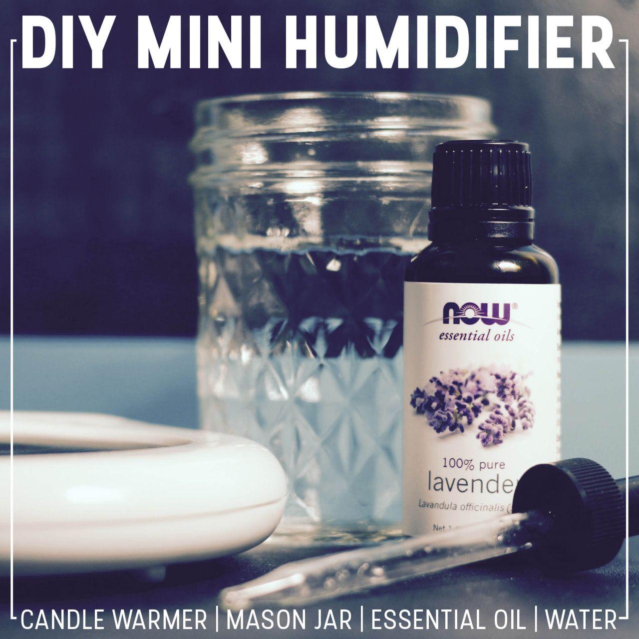 DIY Mini Humidifier Mason jars, Mason jar diy