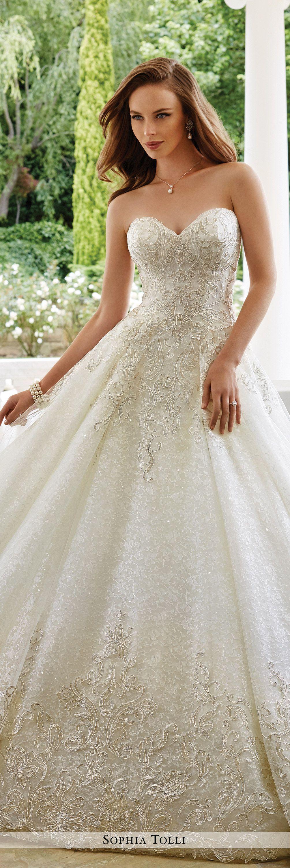 Y21661 veneto sophia tolli wedding dress tulle balls for Sophia tulle wedding dress