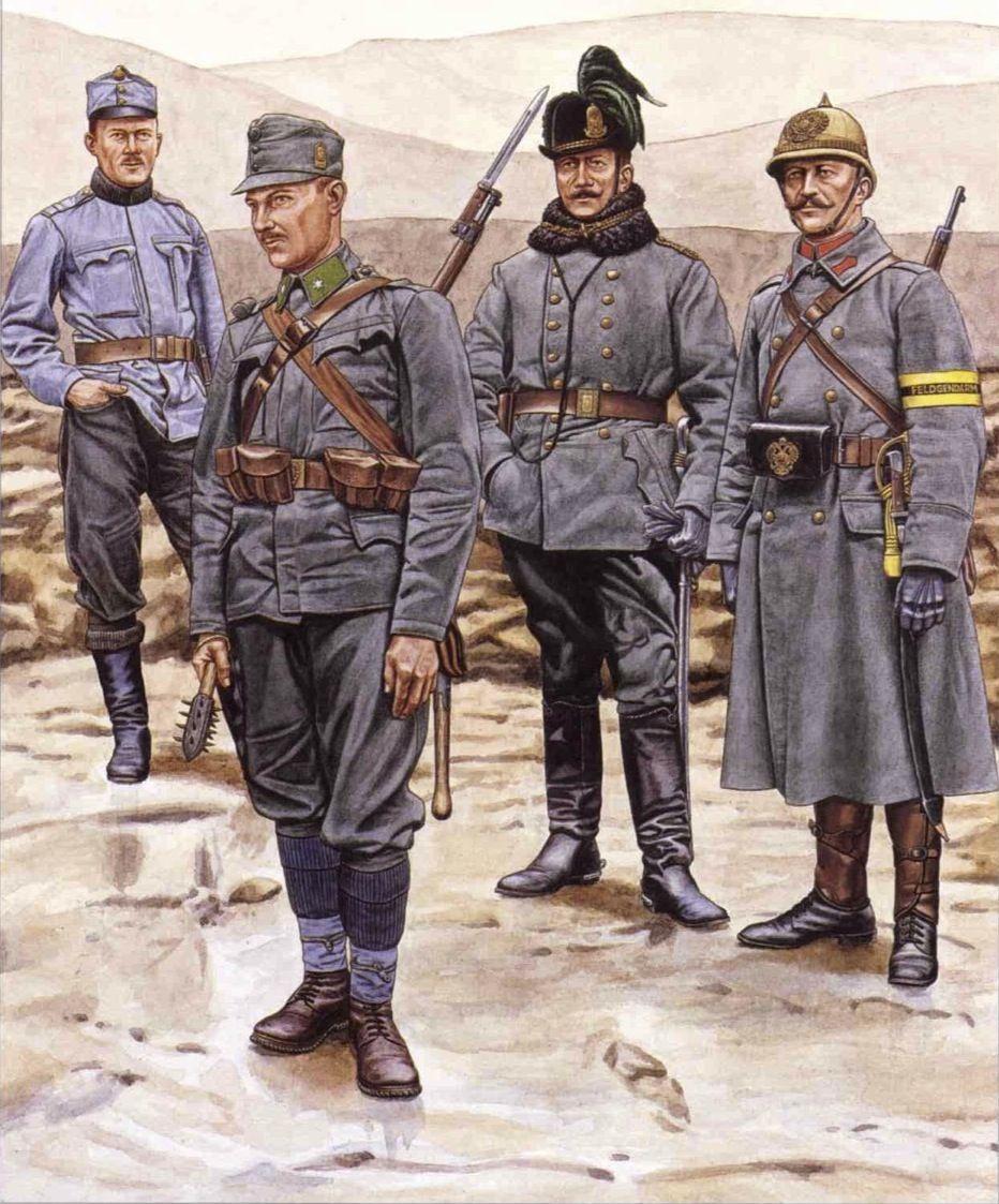 Austro-Hungarian Army, Isonzo/Italian Front, 1915-1916 ...