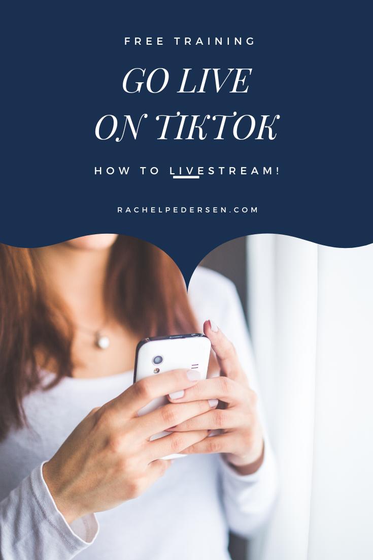 How To Go Live On Tiktok Live Streaming Free Training Live