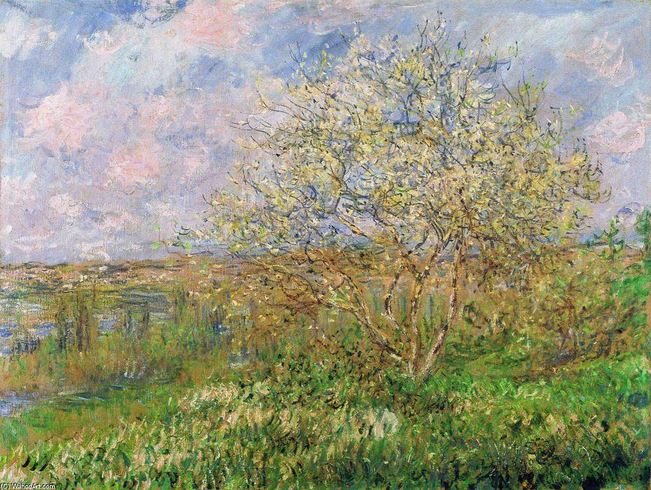 Printemps 1880 De Claude Monet Acheter Fine Art Reproduction Peinture Claude Monet Monet Tableau Monet Comment Peindre