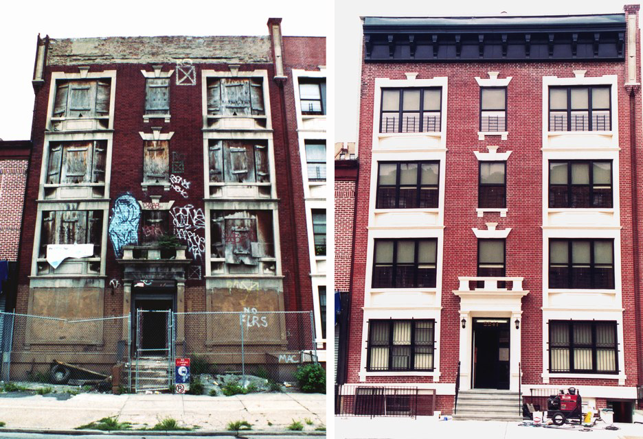 NYC, before, after
