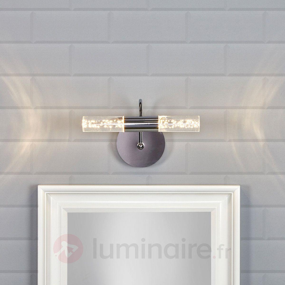 Applique pour miroir LED Duncan au design moderne référence