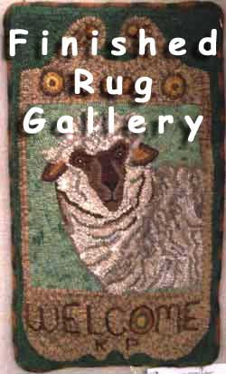 Hooked Rug | Go Primitive   Your Source For Primitive Rug Hooking Patterns